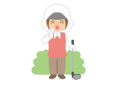 《女性スタッフが多数活躍中!》 ほとんどがゴルフ未経験から始めました! 最初は知識がなくても大丈夫です♪