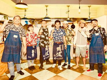 沖縄料理をまかないで♪♪ゴーヤチャンプルー、海ぶどう、沖縄そば、もずくの天ぷらなどなど!美味しいメニューがたくさん★*