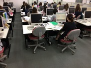 勤務先は、当社関連会社のNII(日本情報産業株式会社)前橋データセンターでのお仕事♪
