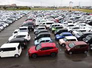 \未経験者さん大歓迎!/ 現在活躍中のスタッフも全員未経験スタート◎ イロイロな車が見れるので車が好きな方にもピッタリ!