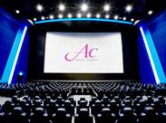 あなた自身も楽しみながらお仕事してくださいね☆映画館ならではの、ワクワク&ドキドキ感を感じながらお仕事できますよ♪