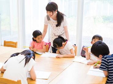 児童クラブでの保育のお手伝いをしたりetc.楽しくていつの間にかこんな時間!そんなお仕事です※画像はイメージ
