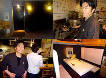 【ホールSTAFF】☆未経験でもいきなり高時給1200円~!☆落ち着いた&スタイリッシュな空間でオシャレにバイトしませんか?嬉しいまかない付き◎