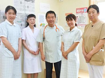 写真の通り、院長はとっても優しい♪ だからこそ医院内の雰囲気も良く 居心地よく働けるんだと思います◎