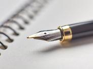 オシャレなデザインの商品や機能性に優れた商品など、いろんな種類の筆記具が並んでいます♪