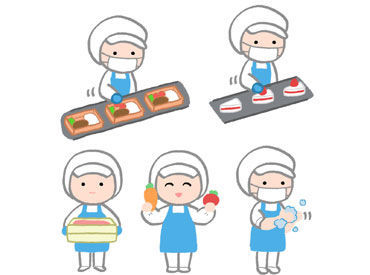 「料理ができない…」そんな方も安心して下さい♪ お仕事はどれもシンプル&簡単◎ 未経験の方も活躍できるお仕事です!