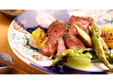 美味しいまかないは、なんと【無料】! お肉好きさんには嬉しい職場になることまちがいなし★