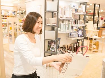 【Shopスタッフ】働きながら、可愛くなれる。:+*◆コスメが好き◆最新コスメは必ずチェック◆メイク動画をよく観る⇒そんなあなたにピッタリ