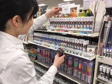 販売経験は一切いりません◎商品についても自然と知識が身についていくので安心してください!!