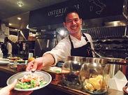 料理のレパートリーが自然と身に付きます★キッチン経験者の方大歓迎です!お気軽にご応募下さい!