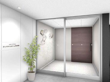 『誰もが訪れやすく、住み慣れた環境で安心と信頼に包まれ暮らす』をコンセプトにデザインされたとってもきれいな施設ですよ★