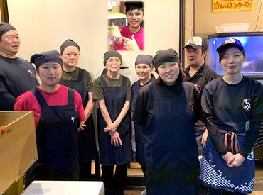スタッフ同士とても仲が良く、 一緒に食事に行くことも☆ 高校生~シニア世代まで、幅広く活躍中!