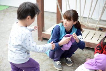 子どもたちの笑顔がまぶしい!!未経験の方やブランクがある方もしっかりフォローしますので、安心してご勤務頂けます!