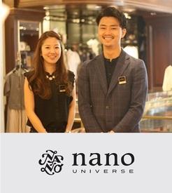【ナノ・ユニバースstaff】「nano・universeが好き!」これだけでOK◎東京カジュアルにヨーロピアンテイストをプラス♪人気ブランドでオシャレに働こう◎