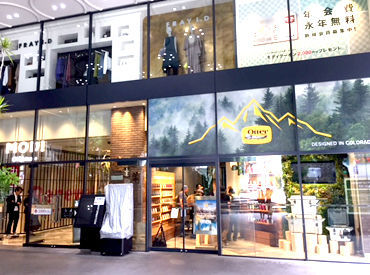 【販売STAFF】アウトドア好き必見♪様々な雑貨やスマホケースが揃うお店です☆OPENは12月下旬を予定!みんな一緒のスタートです◎