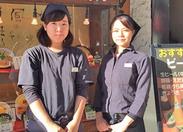 笑顔のたえない≪熊五郎 三宮西口店≫ 男女、年齢関係なくとっても仲のいいスタッフたちが待ってます♪