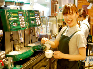 PRONTOなら、CafeもBarも楽しめる★あなたもオシャレなバリスタ&バーテンダーに♪自由シフトで無理なく働こう◎