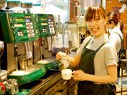 PRONTOなら、CafeもBarも楽しめる★ あなたもオシャレな バリスタ&バーテンに♪ 自由シフトで無理なく働ける◎