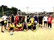 サッカーが好き!子どもが好き! そんな方はジュニアスクールのアシスタントコーチとして活躍できます♪