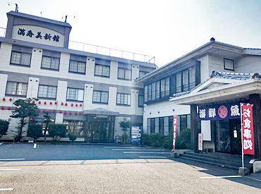 長崎で人気の食事処は、旅館に併設されており、 観光客の方も多数ご来店いただきます。 車でサクッと通勤⇒無料駐車場あります!
