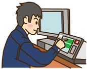 機械を用いたサイズ測定などをお任せ☆ 使い方は丁寧に説明するので、未経験さんも問題ナシ!