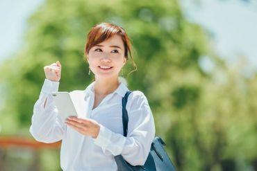 <訪問先のルートは固定♪>先輩のサポート充実◎徐々に仕事に慣れていってくださいね♪主婦さんも多数活躍中!※image画像
