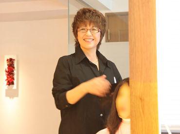 【美容師】∽∽完全予約制・大人のための美容室∽∽ヘアサロンでの勤務経験がある方、歓迎!基本残業なし♪ネイル・ヘアカット等社割あり