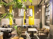 ――2017.1.18…OPEN☆ 御堂筋沿いの建物をリノベーション! 天井高のオシャレなCafe&Barです♪