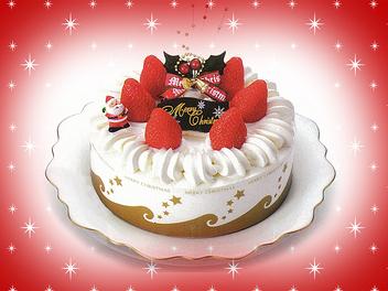 【クリスマスケーキの販売】★☆クリスマス期間限定募集☆★ お客様と一緒に思いっきりクリスマスを楽しんじゃって下さい☆☆☆