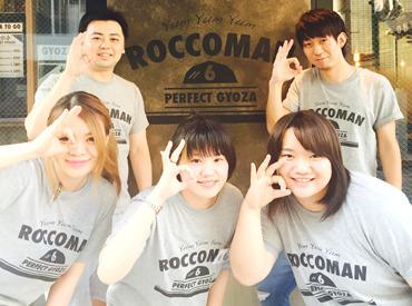 【店舗staff】<イメージは…>△餃子 ◎GYOZAメディアでも話題の『パーフェクトギョウザ ROCCOMAN』Cafeみたいなオシャレな店内.。.:*