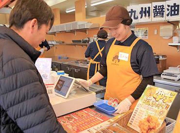 テイクアウト専門のからあげ店で大募集! ニンニクの効いた唐揚げは、インパクト大! 醤油と塩味の2種で絶品の味付け♪