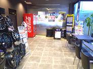 キレイな店内☆ スタッフもお客様も、リラックスできる空間です!!