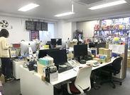 こぢんまりとしたゆる~い雰囲気がどこか落ち着くオフィス★面接も気を張らず、リラックスしてお越しくださいね♪