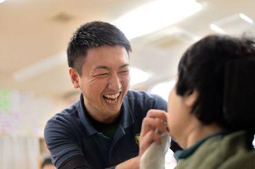 未経験/無資格の方、大歓迎◎ 障がいのある方と初めて接する方でも、安心して働くことができるようサポートします。