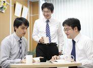 研修中の社員同士の雰囲気も和気あいあい♪ほとんどが未経験からのスタート◎マスコミにも注目される充実研修です!!