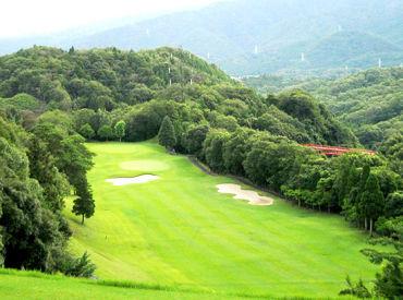 養老山脈の懐に位置するゴルフ場!! 大自然に囲まれて気持ちよく働きませんか? ◆マイカー通勤OK!無料駐車場あり◎◆