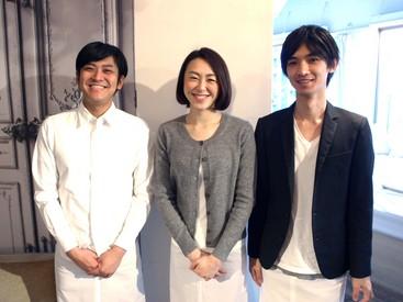 スタッフの多くが、yusoshiの元・お客様。誰でも一度訪れたら大好きになってしまうような、そんなお店づくりをしています。