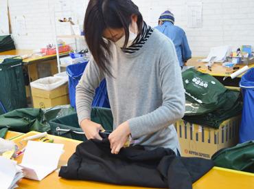 縫い付けのスキルは、 ボタンの縫い付けができる程度でOK! 難しいことはありません♪