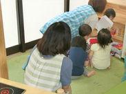 ■ 少ない人数の保育園です! 人数が少ないから、慌てず準備にしっかり手をかけることができます♪