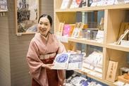 和菓子や和雑貨に興味がある方大歓迎!!カフェメニューは日本橋のお茶や和菓子♪ドリンク作りや盛り付けだけの簡単な作業です◎