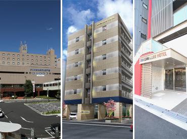 日本橋ラグゼホテルに勤務の場合、 スグ近くにある<道頓堀クリスタルホテル>での勤務もお任せします☆ 時給・条件はそのまま♪