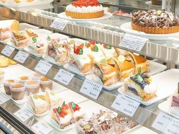 ≪未経験OK≫ 可愛いケーキに囲まれてオシゴト♪ 最初は出来ることから始めましょう! ラッピングが得意な方は大歓迎です★