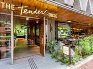 ▼THE TENDER HOUSE 日常でのお食事はもちろん、ウエディングやドラマ撮影など様々なシーンで利用されるレストランです。
