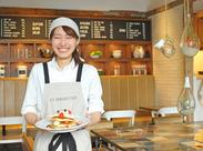 ≪J.S.PANCAKE CAFE≫メディア注目度バツグンの人気カフェ♪ゆったり和めるおしゃれな空間★20~30代のスタッフが活躍中!