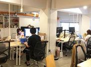 ―♪職場は超オシャレ♪― 共同オフィスなので、いろんな人と仲良くなれる!渋谷駅徒歩圏内でアクセス良好♪もちろん交通費全給