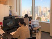 *眺望バツグンの綺麗なオフィス* 港区の御成門と神谷町駅のほぼ中心◎ ランチや買い物も楽しい立地です♪+゜