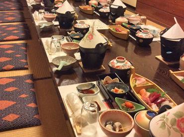 焼津港で水揚げされた魚料理や季節にあったお料理をご提供◎ 接客経験がない方も大歓迎★