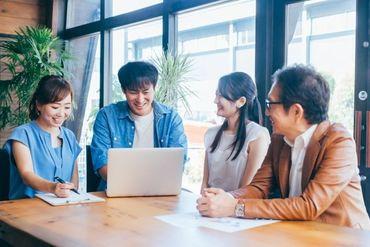 10~20名ほどの会社で、 スタッフ同士仲がいいのが魅力です!! 20~30代中心の活気ある会社で 働きませか?