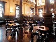 三菱一号館美術館内のミュージアムカフェレストラン♪ お洒落で大人な空間です!!