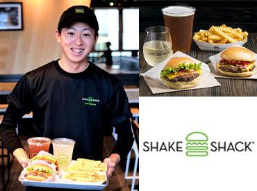 """★メンバーの仲の良さも魅力! 高校生~主婦の方まで、年齢の壁はありません◎ 一緒に""""Shake Shack""""体験をお届けしましょう!"""